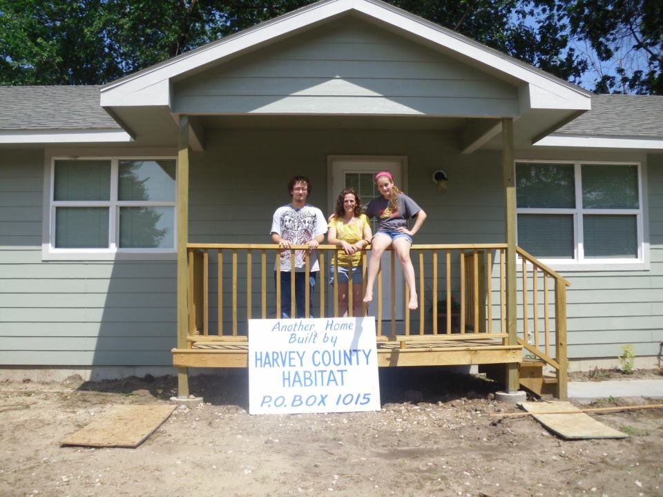 family with Habitat House